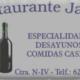 LogoBarRestauranteJavier