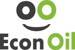 Logo Gasolinera Econoil El Cuervo