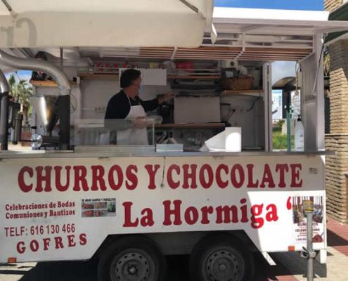 Logo Kiosco Churros La Hormiga