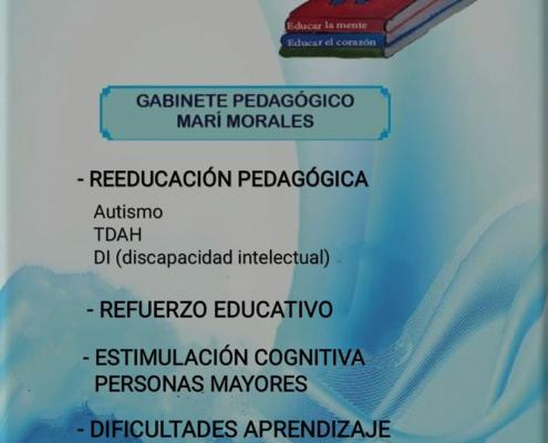 Logo Gabinete Pedagogico Mari Morales
